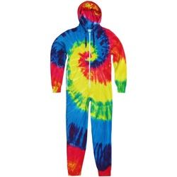 Textiel Kinderen Jumpsuites / Tuinbroeken Colortone Tie Dye Regenboog