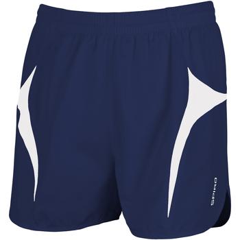 Textiel Heren Korte broeken / Bermuda's Spiro S183X Marine / Wit