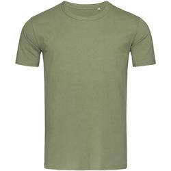 Textiel Heren T-shirts korte mouwen Stedman Stars Morgan Grijs