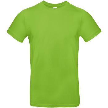 Textiel Heren T-shirts korte mouwen B And C TU03T Orchideeëngroen