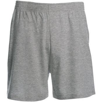 Textiel Heren Korte broeken / Bermuda's B And C BA115 Sportgrijs
