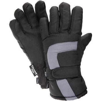 Accessoires Kinderen Handschoenen Floso Ski Zwart/Grijs