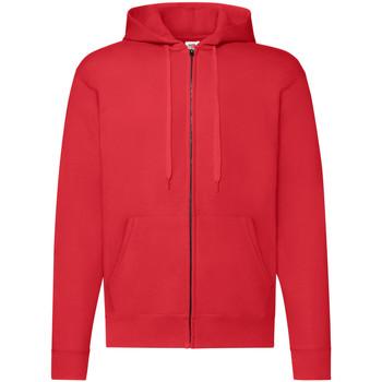 Textiel Heren Sweaters / Sweatshirts Fruit Of The Loom Hooded Rood