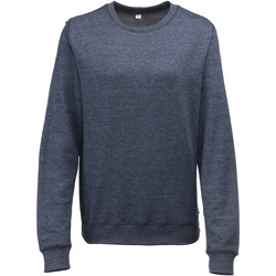 Textiel Dames Sweaters / Sweatshirts Awdis Heather Marine Heide
