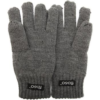 Accessoires Kinderen Handschoenen Floso Knitted Grijs