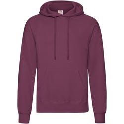 Textiel Heren Sweaters / Sweatshirts Fruit Of The Loom Hooded Bordeaux