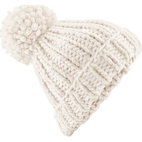 Accessoires Muts Beechfield Knitted Havermout