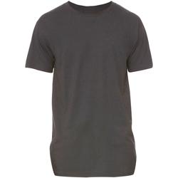 Textiel Heren T-shirts korte mouwen Bella + Canvas Long Body Donkergrijze heide