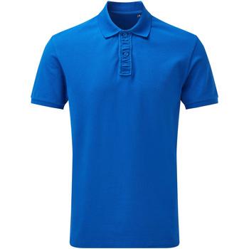 Textiel Heren Polo's korte mouwen Asquith & Fox Infinity Helder Koningsblauw