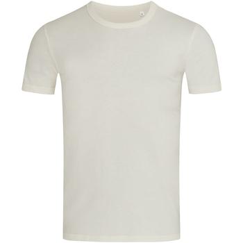 Textiel Heren T-shirts korte mouwen Stedman Stars Morgan Wit/Wit