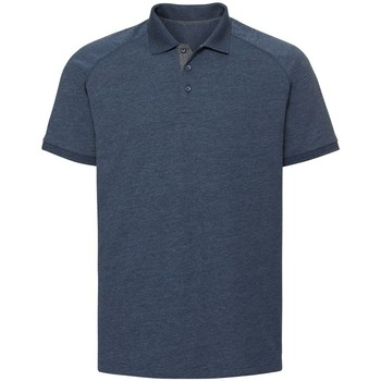 Textiel Heren Polo's korte mouwen Russell Jersey Heldere marinemarl