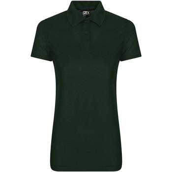 Textiel Dames Polo's korte mouwen Pro Rtx RX05F Fles groen