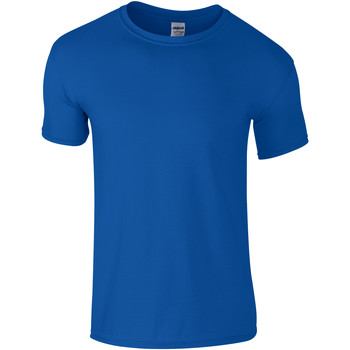 Textiel Kinderen T-shirts korte mouwen Gildan Soft Style Koninklijk