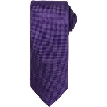 Textiel Heren Krawatte und Accessoires Premier PR780 Paars