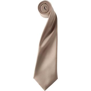 Textiel Heren Krawatte und Accessoires Premier PR750 Khaki