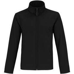 Textiel Heren Fleece B And C Two Layer Zwart