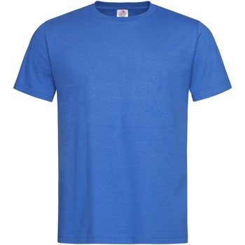 Textiel Heren T-shirts korte mouwen Stedman Stars Organic Blauw