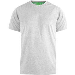 Textiel Heren T-shirts korte mouwen Duke  Grijze Melange
