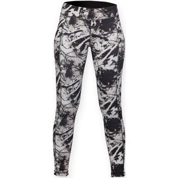 Textiel Dames Leggings Skinni Fit Reversible Zwart / Print