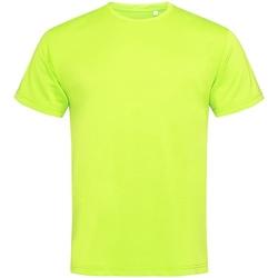 Textiel Heren T-shirts korte mouwen Stedman Active Geel