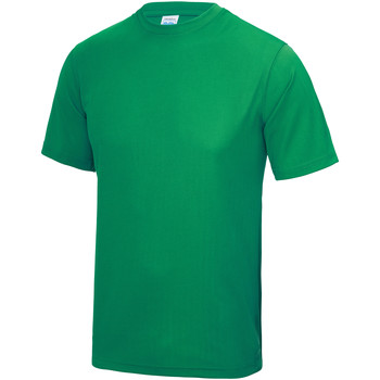 Textiel Kinderen T-shirts korte mouwen Awdis JC01J Kelly Groen
