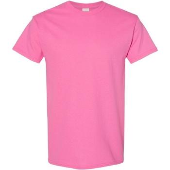 Textiel Heren T-shirts korte mouwen Gildan Heavy Azalea