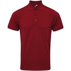 Textiel Heren Polo's korte mouwen Premier Coolchecker Bourgondië