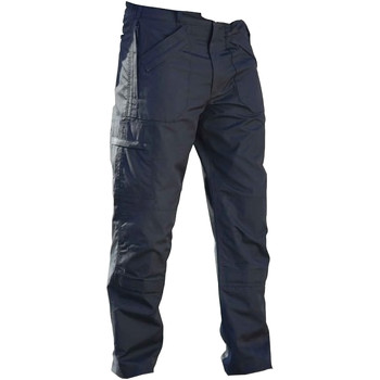 Textiel Heren Cargobroek Regatta TRJ331L Marineblauw