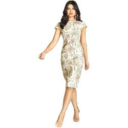 Textiel Dames Korte jurken Girls On Film Alicia Slangenprint