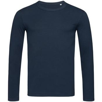 Textiel Heren T-shirts met lange mouwen Stedman Stars Morgan Donkerblauw