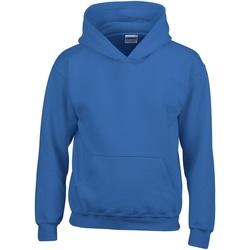 Textiel Kinderen Sweaters / Sweatshirts Gildan Hooded Koninklijk