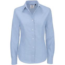 Textiel Dames Overhemden B And C Oxford Oxford Blauw