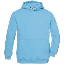 Textiel Kinderen Sweaters / Sweatshirts B And C WK681 Zeer Turquoise