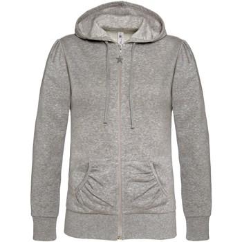 Textiel Dames Sweaters / Sweatshirts B And C WW641 Heide Grijs