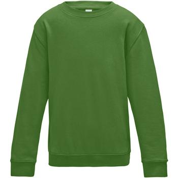 Textiel Kinderen Sweaters / Sweatshirts Awdis JH30J Kelly Groen