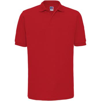 Textiel Heren Polo's korte mouwen Russell Ripple Klassiek rood