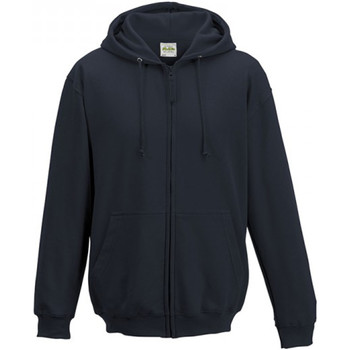 Textiel Heren Sweaters / Sweatshirts Awdis Hooded Marine Oxford