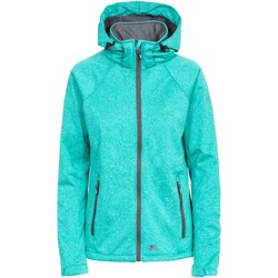 Textiel Dames Fleece Trespass Angela Turquoise