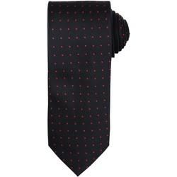 Textiel Heren Krawatte und Accessoires Premier Dot Pattern Zwart / Rood
