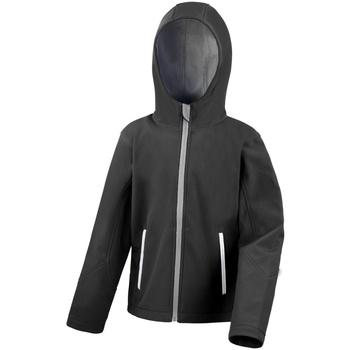 Textiel Kinderen Fleece Result Core Zwart/Grijs