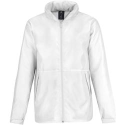 Textiel Heren Fleece B And C JM825 Wit/wit