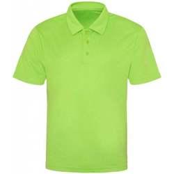 Textiel Heren Polo's korte mouwen Awdis JC040 Elektrisch Groen