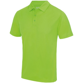 Textiel Heren Polo's korte mouwen Just Cool JC040 Elektrisch Groen