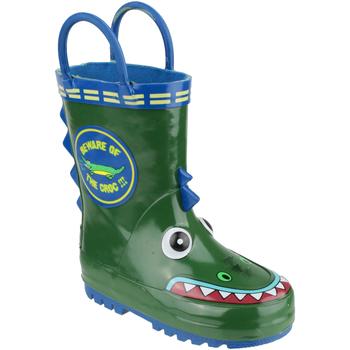 Schoenen Jongens Regenlaarzen Cotswold Puddle Krokodil