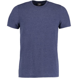 Textiel Heren T-shirts korte mouwen Kustom Kit Fashion Fit Denim Marl