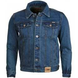 Textiel Heren Spijker jassen Duke Trucker Stonewash