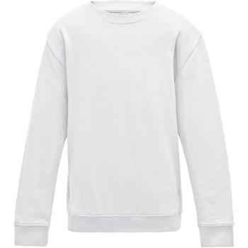 Textiel Kinderen Sweaters / Sweatshirts Awdis JH30J Arctisch Wit