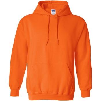 Textiel Sweaters / Sweatshirts Gildan Hooded Veiligheid Oranje