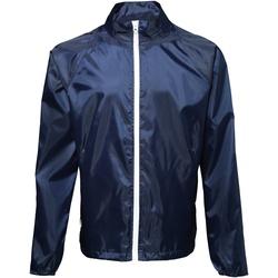 Textiel Heren Windjacken 2786  Marine / Wit