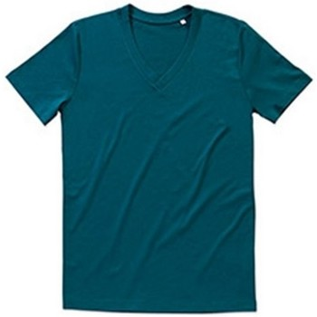 Textiel Heren T-shirts korte mouwen Stedman Stars Organic Donkerblauw